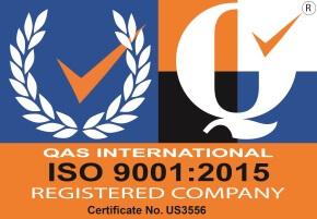 ISO 9001:2008 Registered Firm